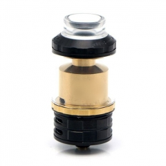 Fatality M25 Style 25mm  RTA Rebuildable Tank Atomizer 5.5ml - Black Gold