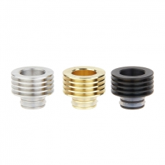 Stainless Steel Heat Insulation Base for 510 Drip Tip (3 Pieces) 12.2mm