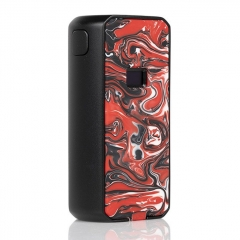 Authentic Augvape Druga Foxy 150W VV VW Box Mod 18650 - Black Red
