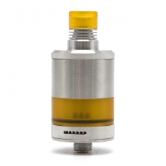 Authentic BD Vape Fumytech Precisio MTL Pure 22mm RTA 2.7ml - Silver