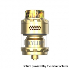 (Ships from HK)Authentic Vandy Vape Kylin M 24mm RTA 3ml/4.5ml - Gold