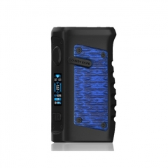 (Ships from HK)Authentic Vandy Vape Jackaroo 100W 18650/20700/21700 TC VW Box Mod - Blue Python