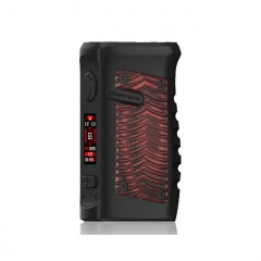 (Ships from HK)Authentic Vandy Vape Jackaroo 100W 18650/20700/21700 TC VW Box Mod - Red Ridge