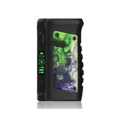 (Ships from HK)Authentic Vandy Vape Jackaroo 100W 18650/20700/21700 TC VW Box Mod - Green Jade
