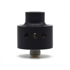 SXK SiChro Style 316SS 22mm RDA Rebuildable Dripping Atomizer w/ BF Pin - Black