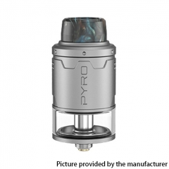Authentic Vandy Vape Pyro V3 24mm RDTA Rebuildable Dripping Tank Atomizer 2ml - Silver