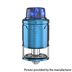 Authentic Vandy Vape Pyro V3 24mm RDTA Rebuildable Dripping Tank Atomizer 2ml - Blue
