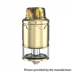 Authentic Vandy Vape Pyro V3 24mm RDTA Rebuildable Dripping Tank Atomizer 2ml - Gold