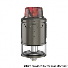 Authentic Vandy Vape Pyro V3 24mm RDTA Rebuildable Dripping Tank Atomizer 2ml - Gun Metal