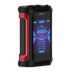 Authentic GeekVape Aegis X 200W TC VW Variable Wattage Box Mod - Black Red