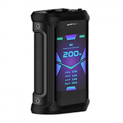 Authentic GeekVape Aegis X 200W TC VW Variable Wattage Box Mod - Stealth Black