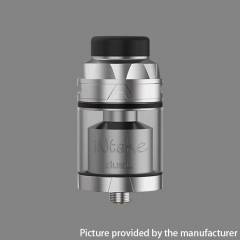 Authentic Augvape Intake Dual 26mm RTA Rebuildable Tank Atomizer 4.2ml - Silver