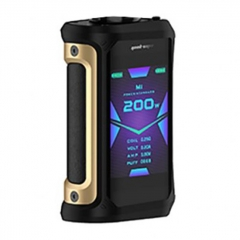 Authentic GeekVape Aegis X 200W TC VW Variable Wattage Box Mod - Gold Black