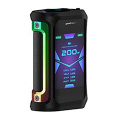 Authentic GeekVape Aegis X 200W TC VW Variable Wattage Box Mod - Black Rainbow
