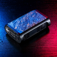 Authentic asMoDus ULTRONNER EOS II TC VV VW Box Mod 18650 - Blue