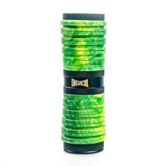 Authentic Ultroner Omega Coil Stablized Wood 25mm Hybrid Mechnical Mod 18650 - Green