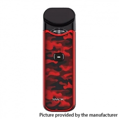 Authentic Smoktech SMOK Nord 1100mAh 15W Pod System Starter Kit 3ml 0.6/1.4ohm - Red Camouflage