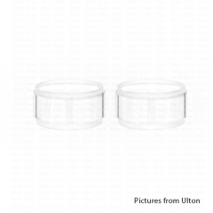 (Ships from Germany)Replacement Glass Tank for Chopping Kit Fev v4/4.5 2pcs - Transparent