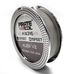 Pirate Coil A1 316L Alien v2 KA3*28GA+316L 32GA 10 Feet