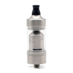 Value Greek Style 22mm 316SS MTL RTA Rebuildable Tank Atomizer 4ml - Silver