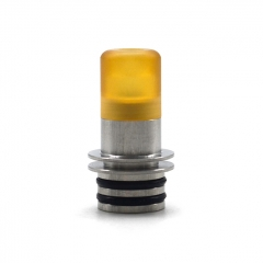 KS Taste High-end Customized 510 PEI Drip Tip Kit 1pc - Yellow