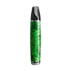 Authentic Ultroner Oner 12W 380mAh Pod System Stainless+Staliblized Wood Starter Kit 1.5ohm/2ml - Green