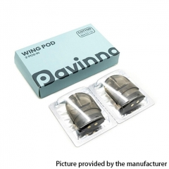 Authentic asMODus Pavinno Wing Pod System Replacement Pod Cartridge w/ Mesh Coil 2.5ml/2pcs