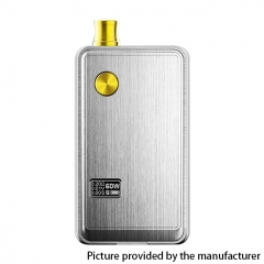 Authentic ThinkVape ZETA AIO 60W VW Variable Wattage Box Mod Pod System Starter 18650 Kit 3ml - Silver