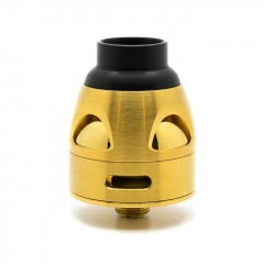 Authentic asModus Galatek 24mm RDA Rebuildable Dripping Atomizer w/BF Pin - Gold