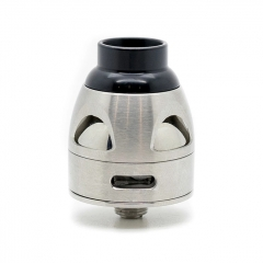 Authentic asModus Galatek 24mm RDA Rebuildable Dripping Atomizer w/BF Pin - Silver