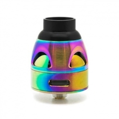 Authentic asModus Galatek 24mm RDA Rebuildable Dripping Atomizer w/BF Pin - Rainbow