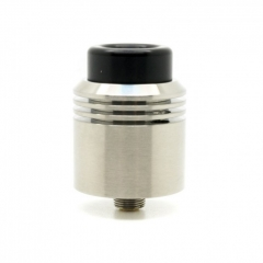 Authentic asMODus x Thesis Barrage 24mm BF RDA Rebuildable Dripping Atomizer - Silver