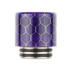 Reewape 510/810 Interchangeable Resin Drip Tip AS272FS 1pc - Purple