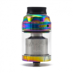 Authentic Augvape Intake Dual 26mm RTA Rebuildable Tank Atomizer 4.2ml - Rainbow