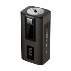 Authentic Steam Crave Hadron 220W TC VW Variable Wattage Box Mod 18650/21700 - Gun Metal