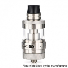 Authentic Steam Crave Aromamizer Lite V1.5 MTL 23mm RTA Rebuildable Tank Atomizer - Silver