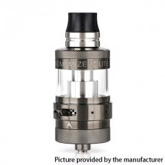 Authentic Steam Crave Aromamizer Lite V1.5 MTL 23mm RTA Rebuildable Tank Atomizer - Gun Metal