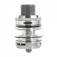 Authentic Hellvape Fat Rabbit Sub Ohm Tank Clearomizer (Standard Edition)0.2/0.15ohm 2ml/5ml - Silver