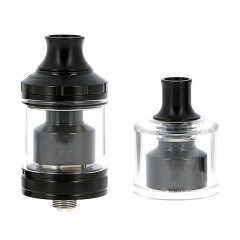 ULTON Gata Style 24mm 2-in-1 MTL&DTL RTA Rebuildable Tank Atomizer 2ml/4ml(1:1) - Black