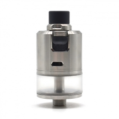 ULTON BF-99 Cube 316SS 22mm MTL&DTL RDTA Rebuildable Dripping Tank Atomizer 2.5ml - Silver