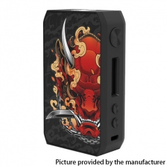 Authentic CIGPET Capo 126W VW Regulated Box Mod - Hannya