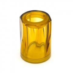Replacement Crystal Transparent PEI Tank 22mm for Auguse MTL RTA - Yellow