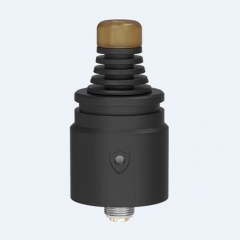 Berserker V2 Style 22mm MTL RDA Rebuildable Dripping Atomizer w/BF Pin - Black