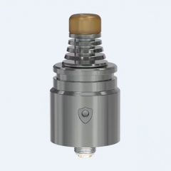 Berserker V2 Style 22mm MTL RDA Rebuildable Dripping Atomizer w/BF Pin - Gun Metal