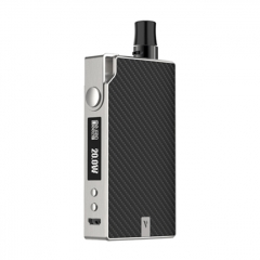 Authentic Vaporesso Degree Meshed 30W 950mAh VW Box Mod Pod System Starter Kit 2ml/0.6ohm/1.3ohm - Black