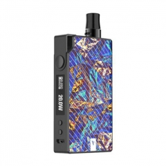 Authentic Vaporesso Degree Meshed 30W 950mAh VW Box Mod Pod System Starter Kit 2ml/0.6ohm/1.3ohm - Blue