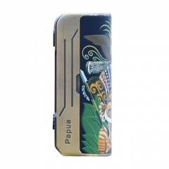 Authentic Hippovape Papua Box Mod 100W VV VW Box Mod 18650/20700/21700 - Bronze