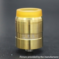 MDLR Style 24mm RDA Rebuildable Dripping Atomizer w/ BF Pin - Gold