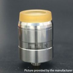 MDLR Style 24mm RDA Rebuildable Dripping Atomizer w/ BF Pin - Silver