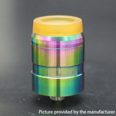 MDLR Style 24mm RDA Rebuildable Dripping Atomizer w/ BF Pin - Rainbow